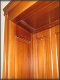 ineriérové dveře s kazetovou zárubní
